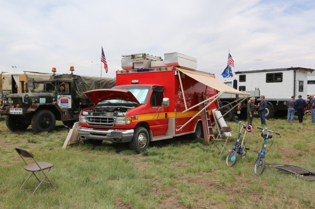 Yes, you CAN convert that ambulance to an overland vehicle.