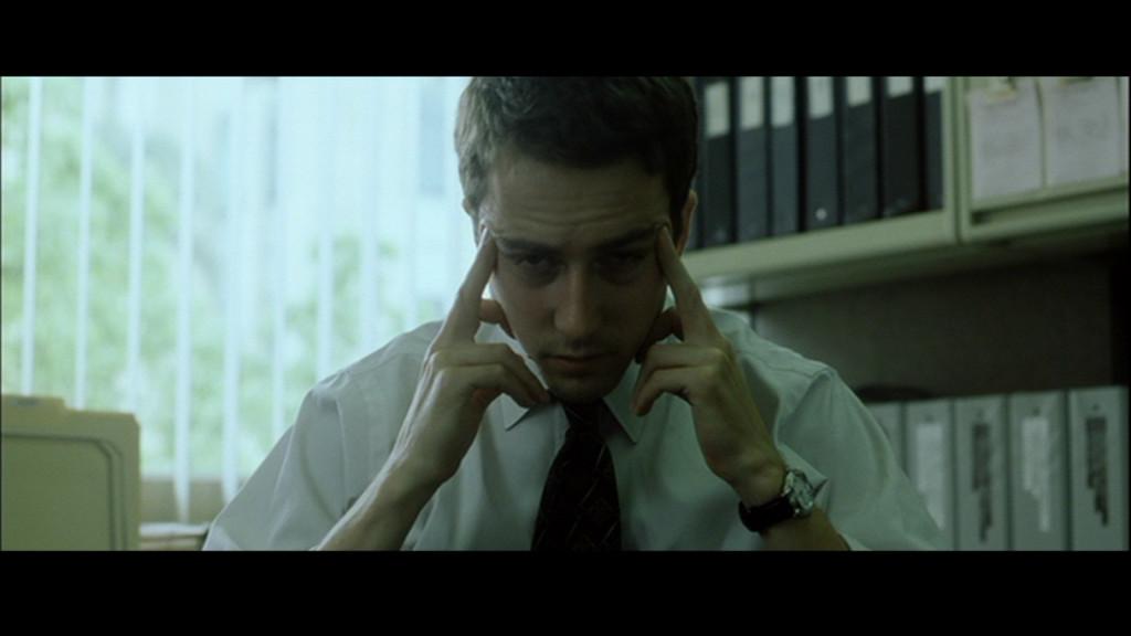 Edward Norton (Tyler Durden) from Fight Club.