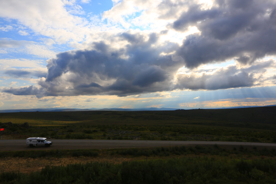 XPCamper gets a taste of the Dalton Highway.