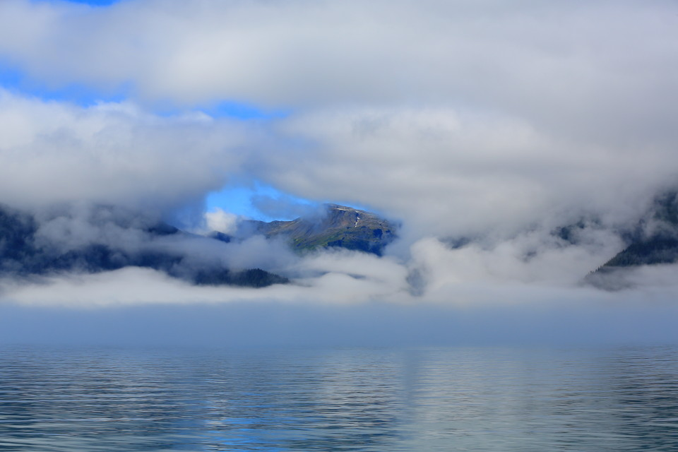 The tease of the beauty that was behind the mist