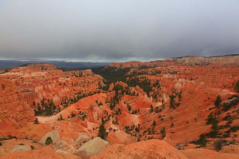 Beautiful Bryce from the first lookout.