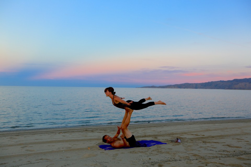 Richard and Ashely (Desk to Glory) continue their training for Cirque du Soleil.