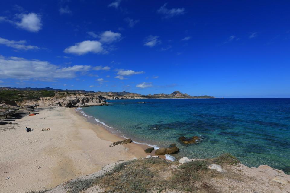 Los arbolitos beach.