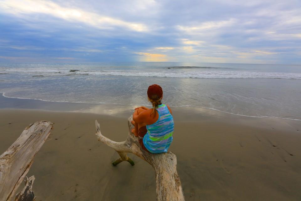 Playa La Ticla.