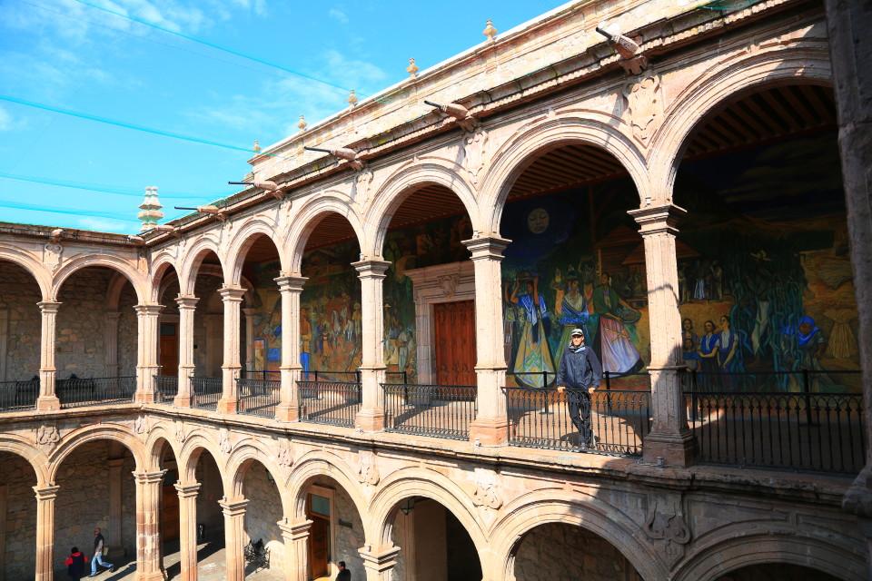 Palacio de Gobierno.