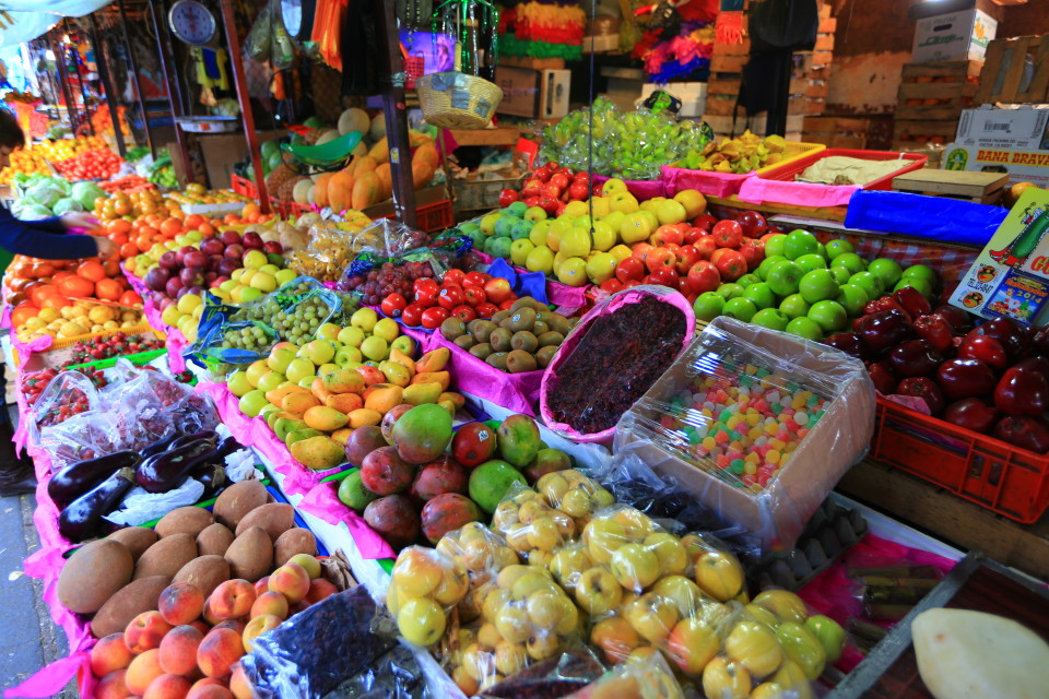 Fruit and vegetable stalls went for blocks. The best produce we have seen so far in Mexico.