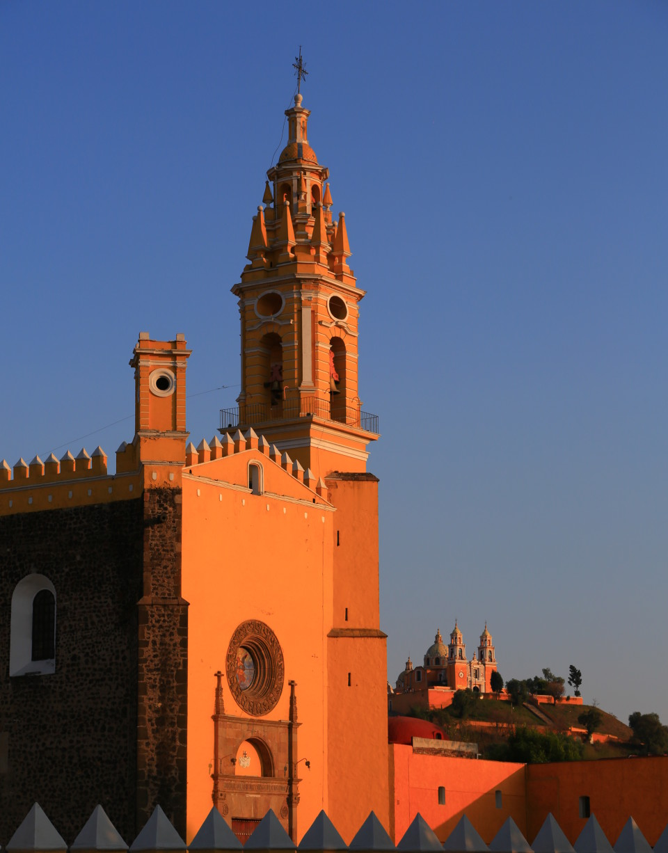 Cholula has 365 churches. One for each day of the year?