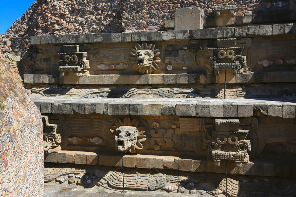 Fun fact 3: This civilization predated the Aztecs who called the ruins The City of the Gods.