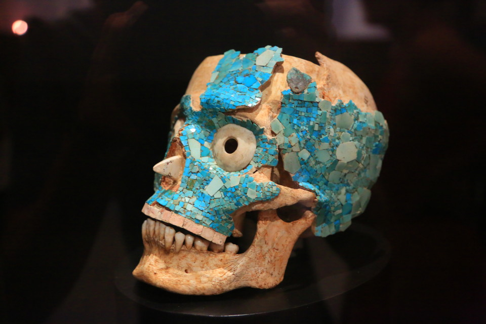 The museum has a huge collection of artifacts from Monte Alban. Very impressive.