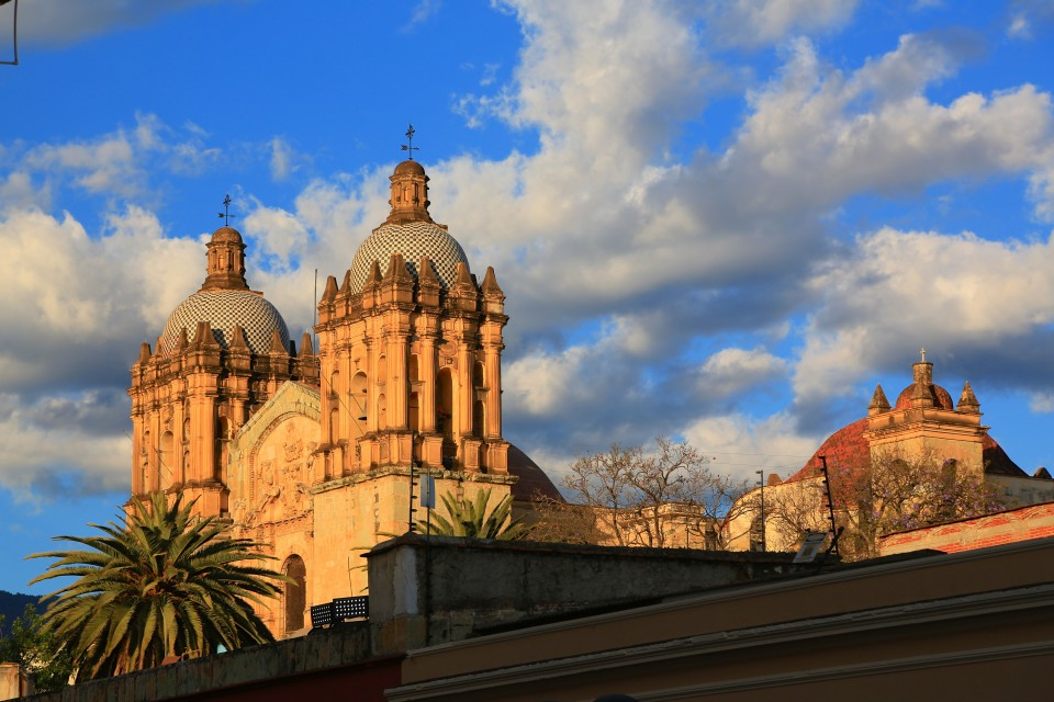 The stunning Templo de Santo Domingo. The best time to see it is a dusk. It turns it golden.