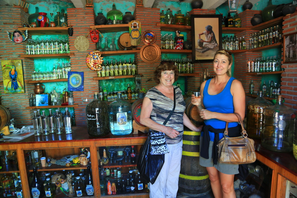 There is great Mezcal made all around Oaxaca, almost all the shops will let you sample them, the anjeos are like brandy.