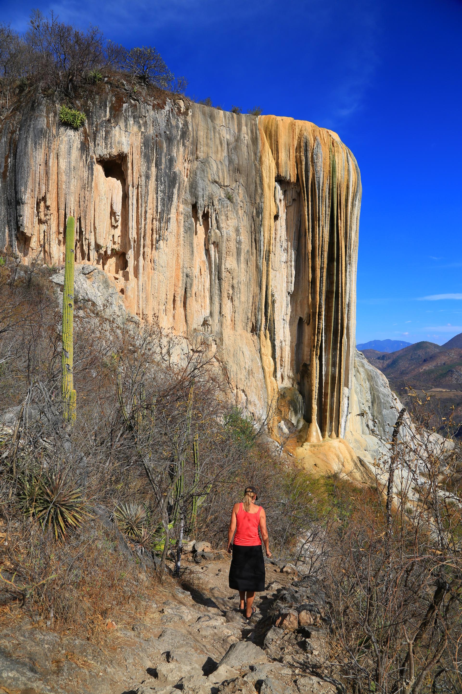 Around Oaxaca Monte Alb 225 N And Hierve El Agua Song Of