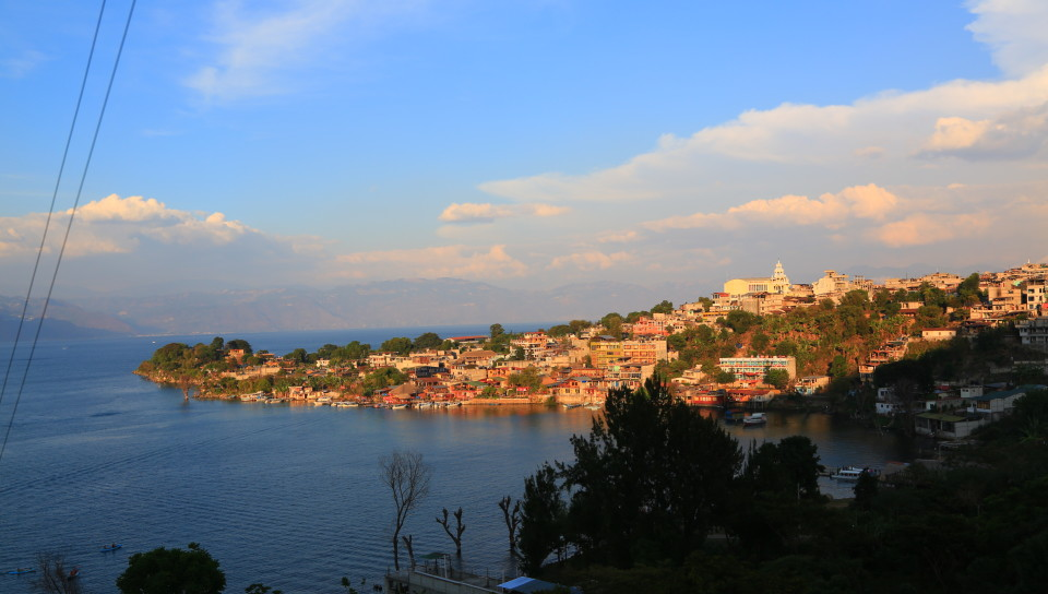 Writer Aldous Huxley thought Lake Atilan looked like Lake Como in Italy with volcanoes.