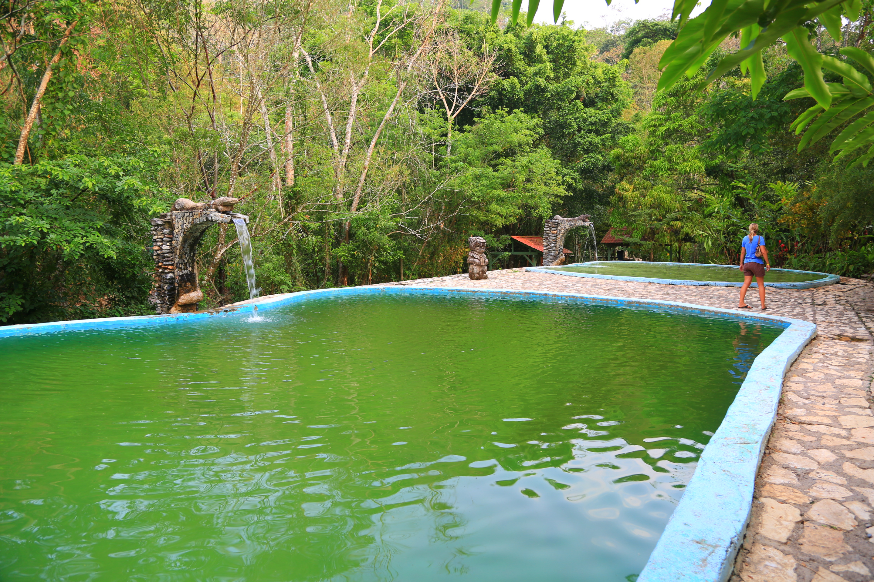 Honduras feeling hot hot hot song of the road for Affordable pools