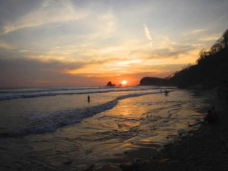 Next evenings sunset.