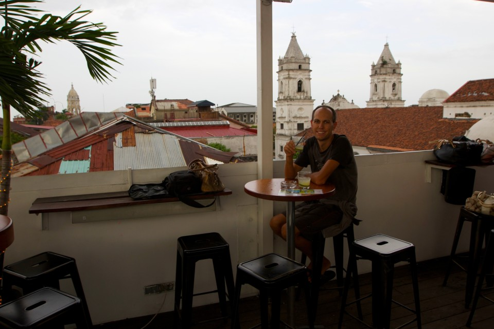 John and Anita told us about a great rooftop bar, Tantalo. They have a good happy hour and great tapa portion food.