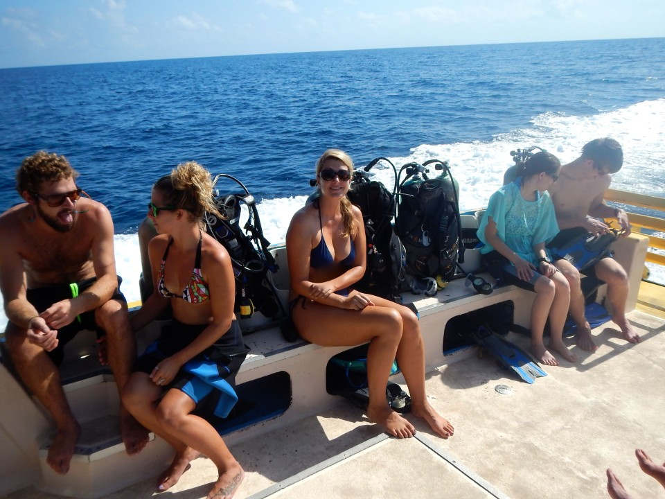 Sunny days and perfect visibility made diving a blast.