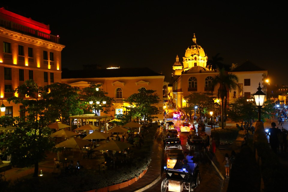 El Centro at night. This is the best time to explore the city, it just pulses with energy.