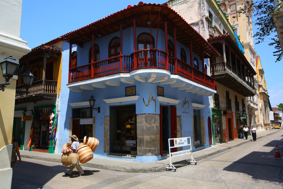 One of the many stunning hoses and shops of El Centro. No wonder this entire area is a UNESCO World Heritage City.