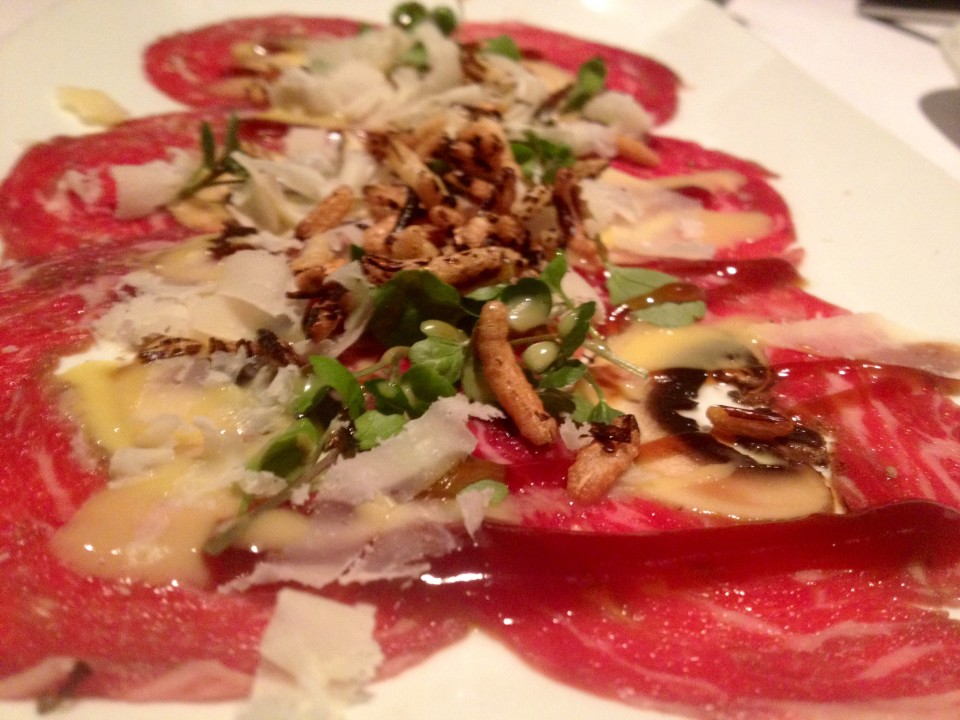 We met John and Anita downtown at Maito. the food was to die for, I think my favorite thing was the beef carpaccio.