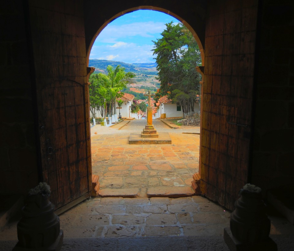 View from the old Santa Barbara chapel.