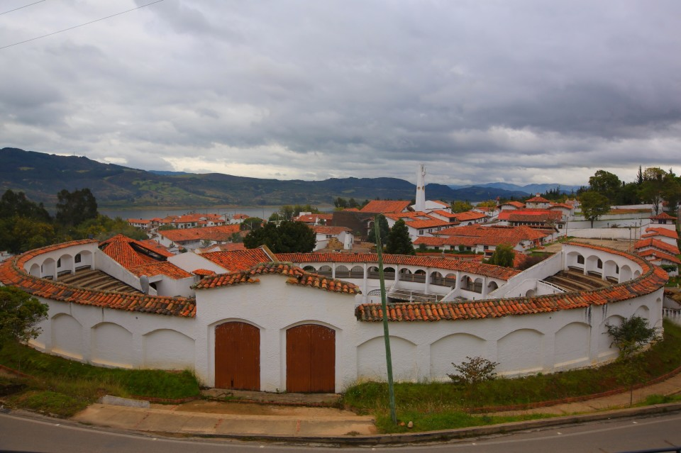 The bull ring of Guatavita.