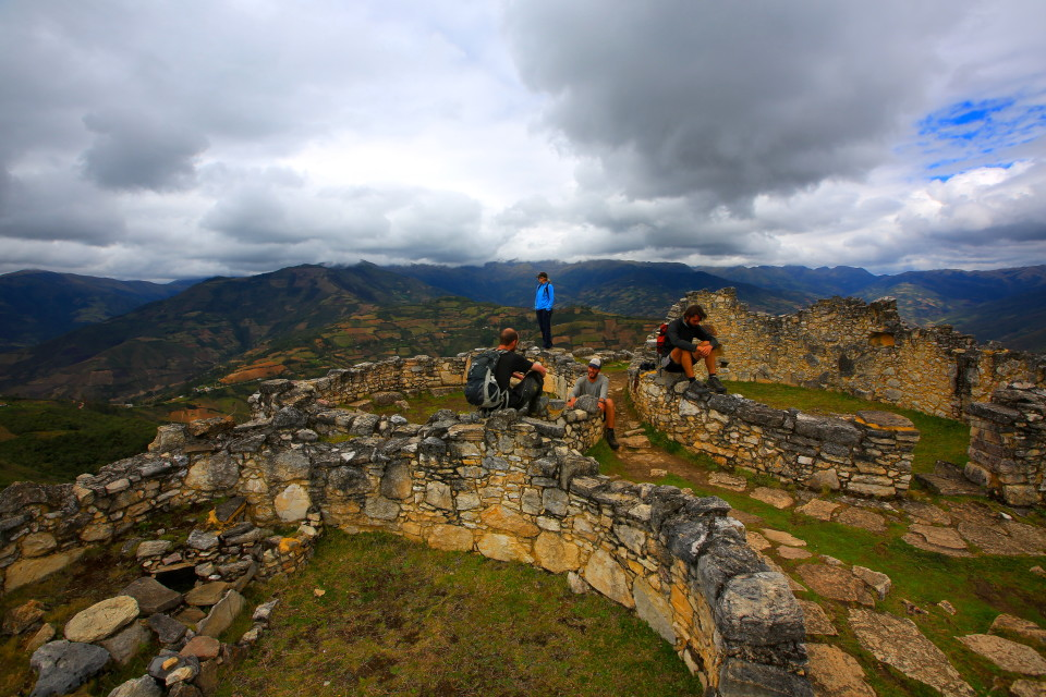 Exploring the ruins with our new friends made it even better.