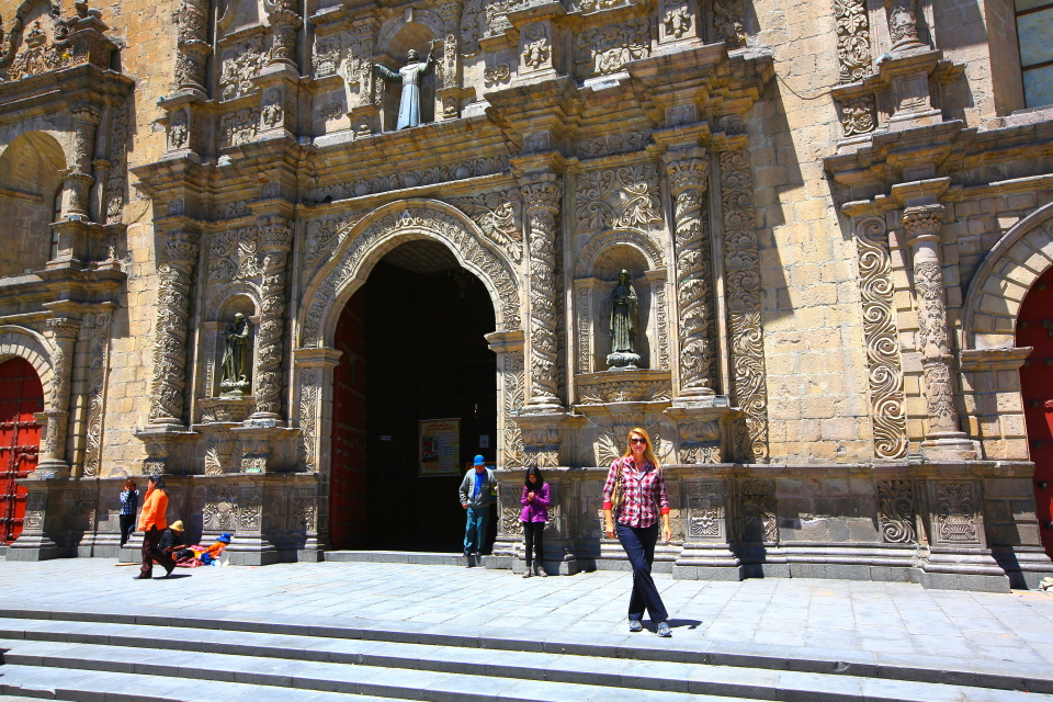 We started out exploring central La Paz at the cathedral.