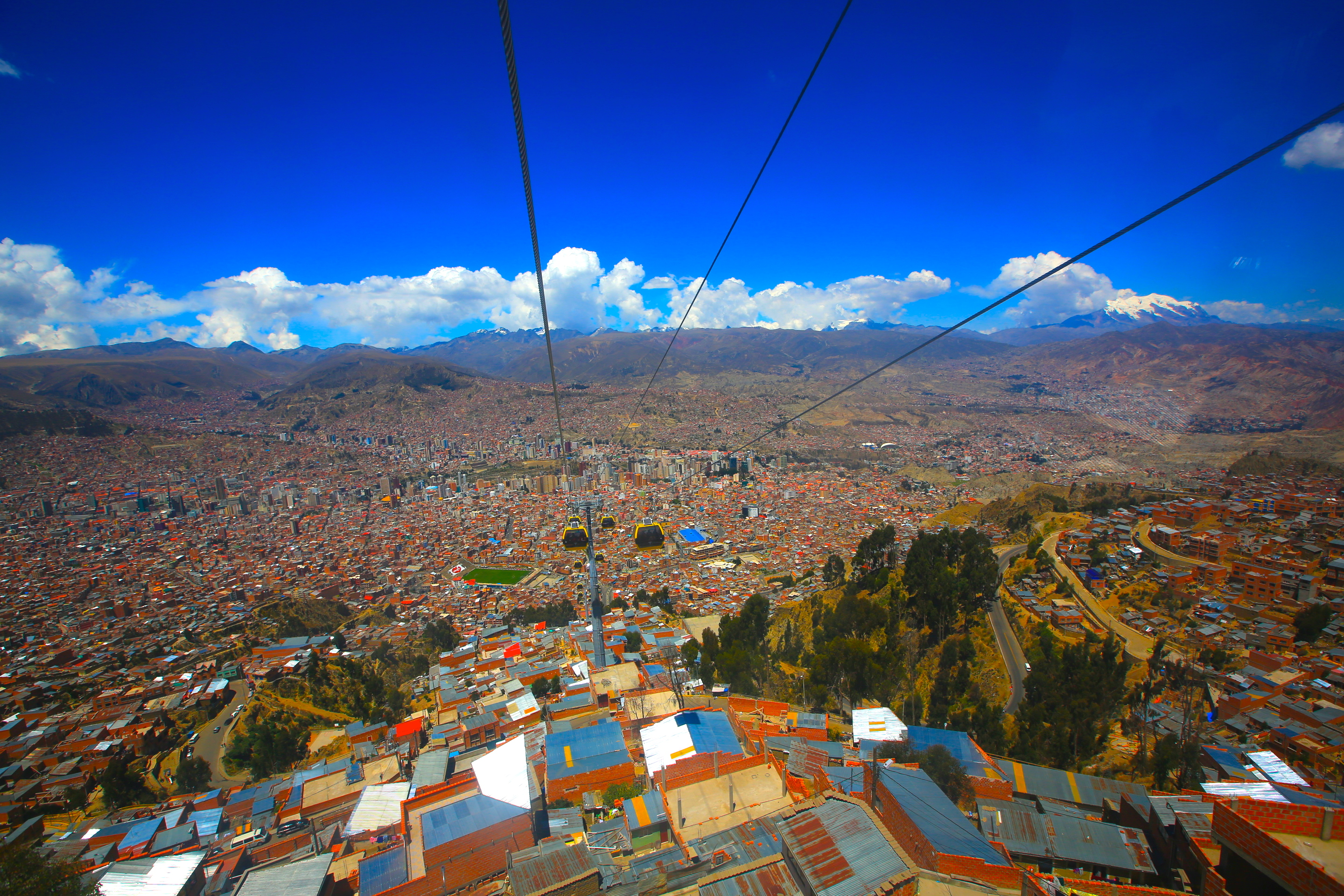 La paz bolivia song of the road for Is la a city