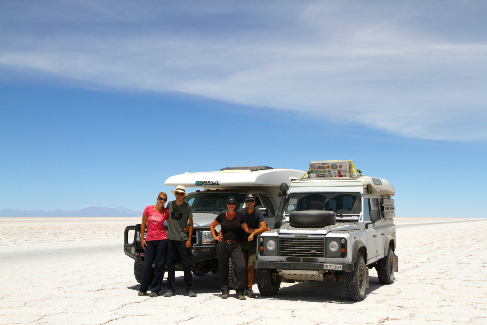 We were so glad we got to spend this time with friends on the salt flats, it made it so much fun.