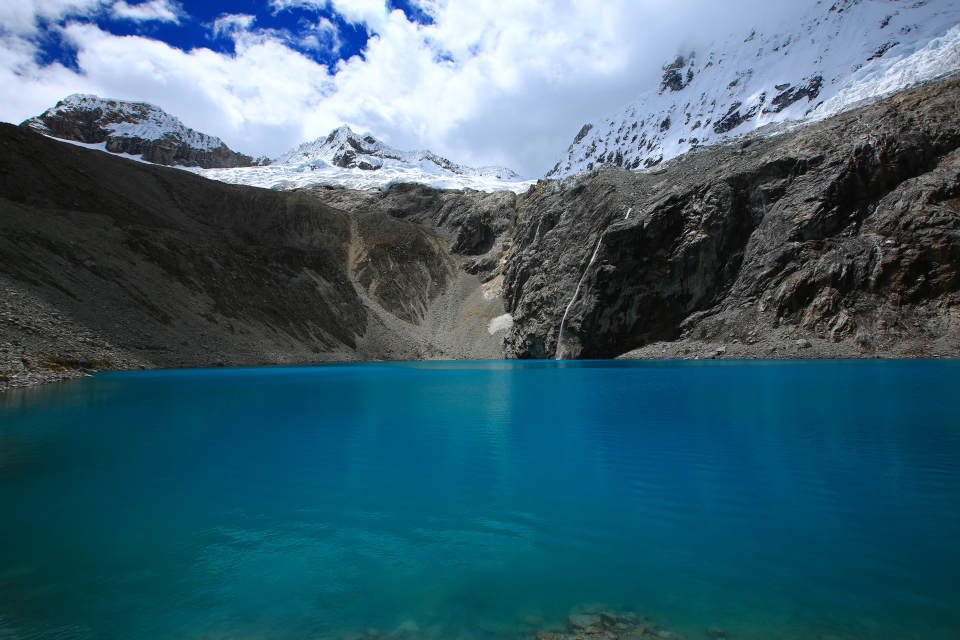 One of the bluest lakes I have ever seen. It did not look real. This picture is the actual color. Stunning!