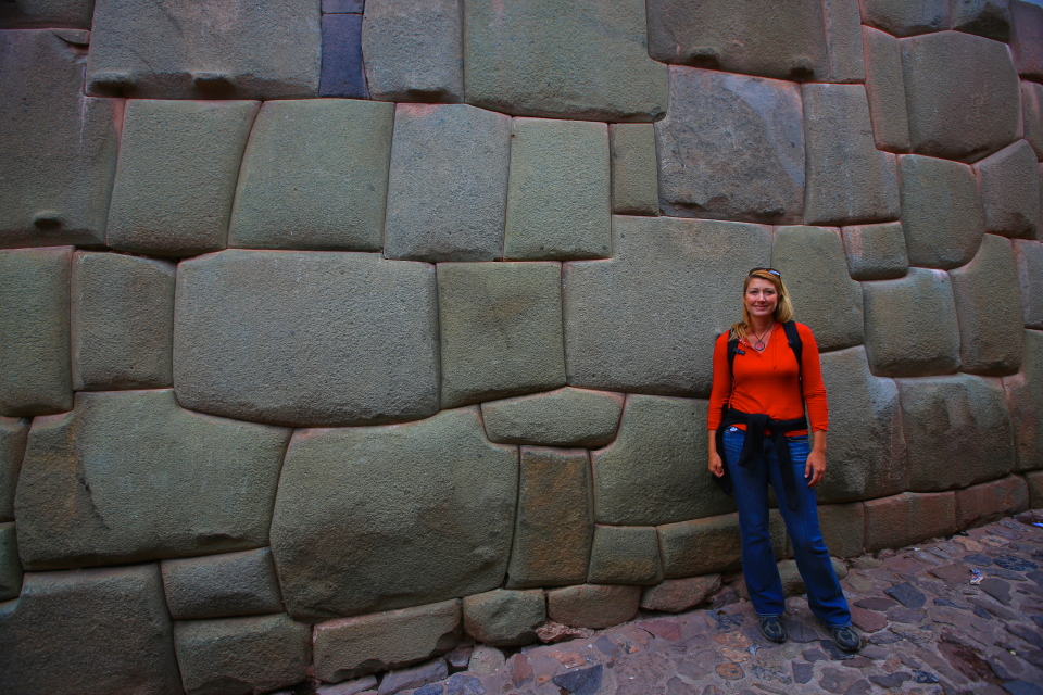 Our favorite part of Cusco?  Definitely!  These rock walls were a wonder to look at.