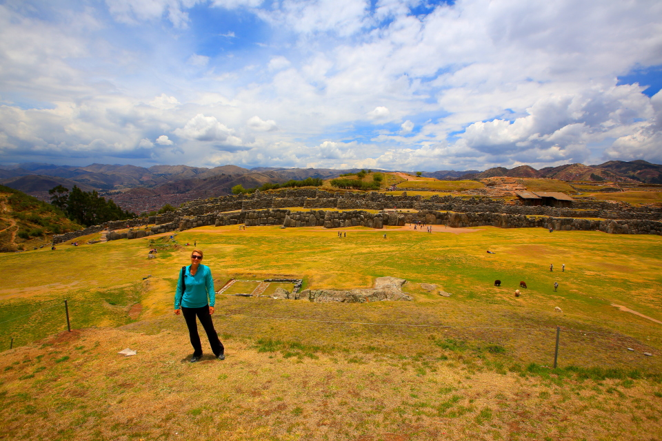 This site is so large that the entire population of Cusco would have been able to seek shelter here if there was a disaster.