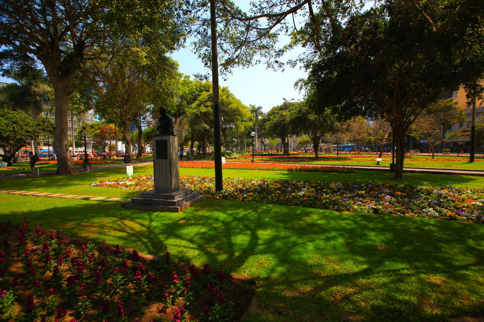 This park was in the heart of Miraflores, it was a nice break from the energy of the busy streets.