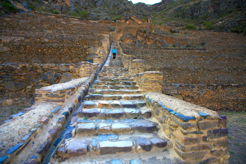 I lost weight in Peru. All the Inca stairs everyday were a great workout.