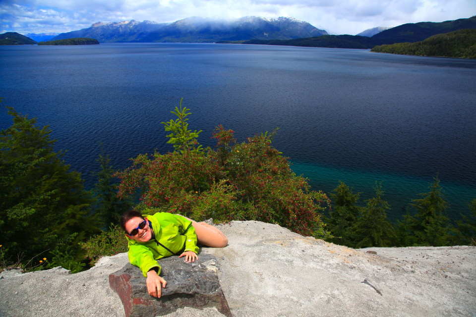 Anna decided to do some mountain climbing action shots in her Patagonia gear, we had high hopes for a catalog cover. =).