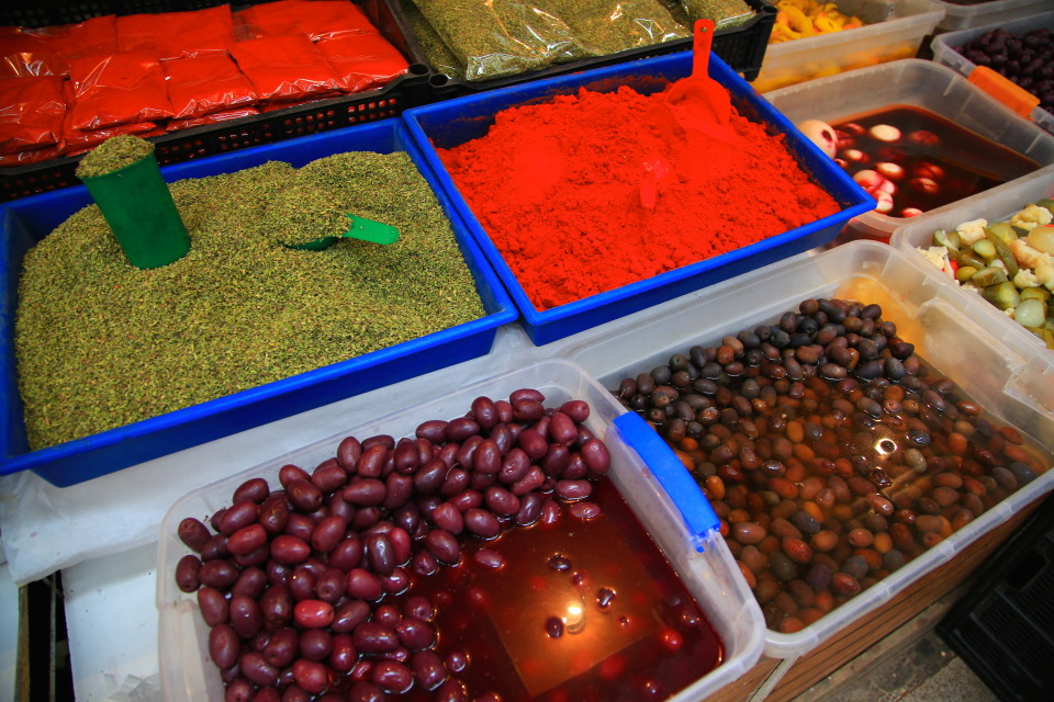 Chile has lots of olives and pickled veggies. The veggies are also often brined in salt instead of vinegar which became my favorite snack in Chile, but they are not for people on a low salt diet!