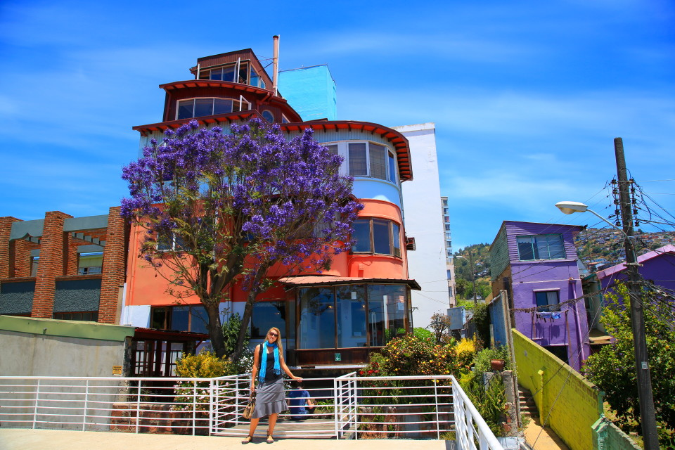 Neruda's house.