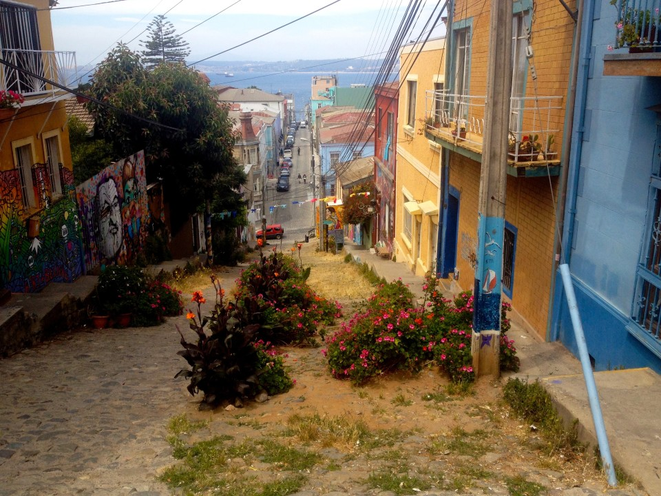 This was the street our hostel was on, it was so similar to San Francisco.