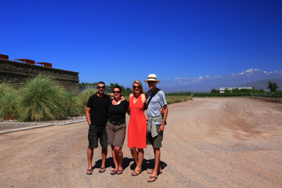The four of us booked a day of wine tasting with a private tour including a very fancy lunch. It was a super fun day and it was great not having to worry about having a designated driver.