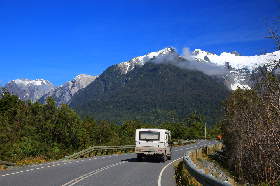 I am kind of sad they are paving all the Carretera Austral. A few years ago it was all dirt, things are a changing.....