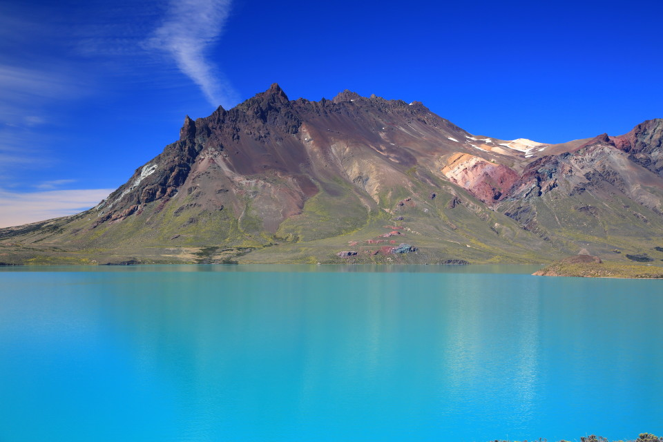 The glacier water creates such a unique color of aqua blue.
