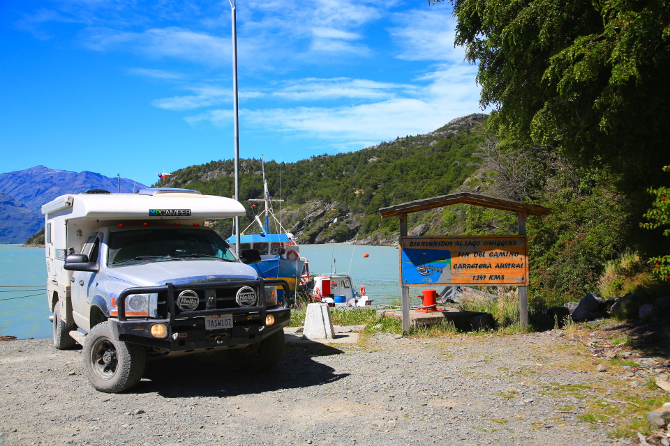 So what to tou do when you drive the entire length of the Carretera Austral? Turn around and drive it back again? I wish. We did have to backtrack a bunch, but the road was scenic we could care less.