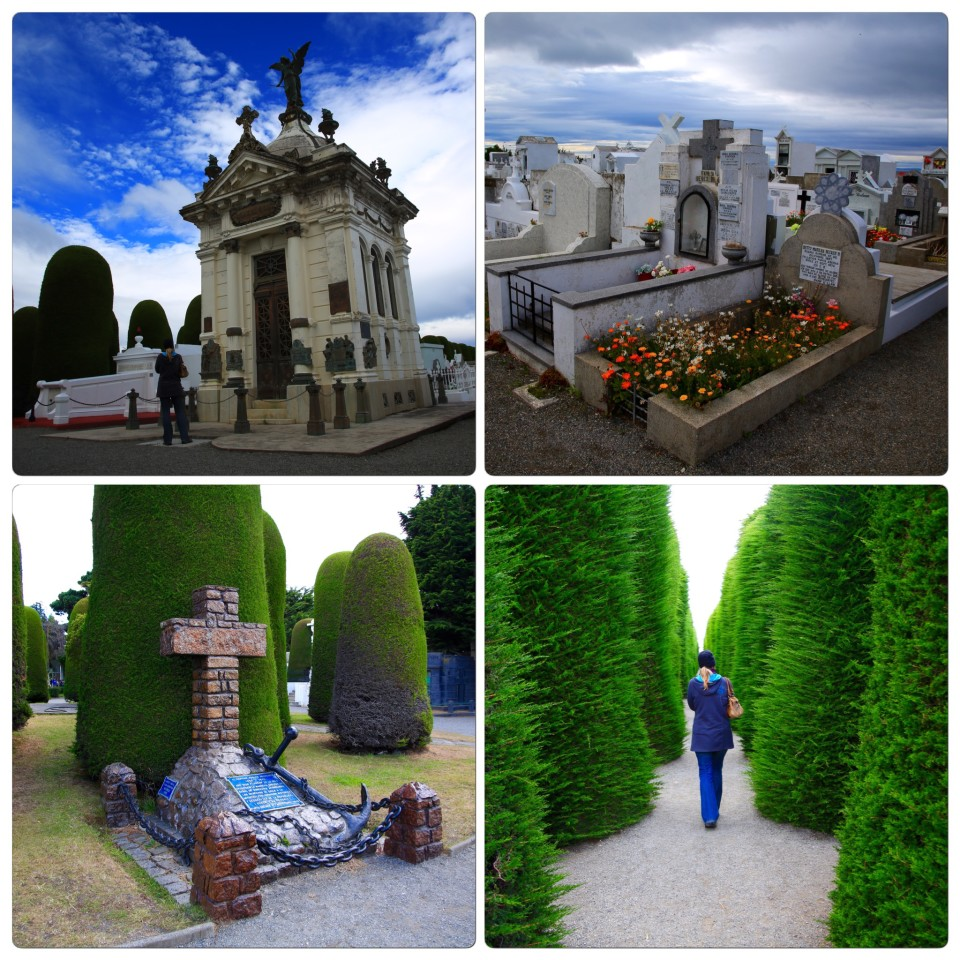 We also visited the cemetery in Punta Arenas. It told a great story of the history of the people who decided to call the cold and wild Chilean Patagonia home.