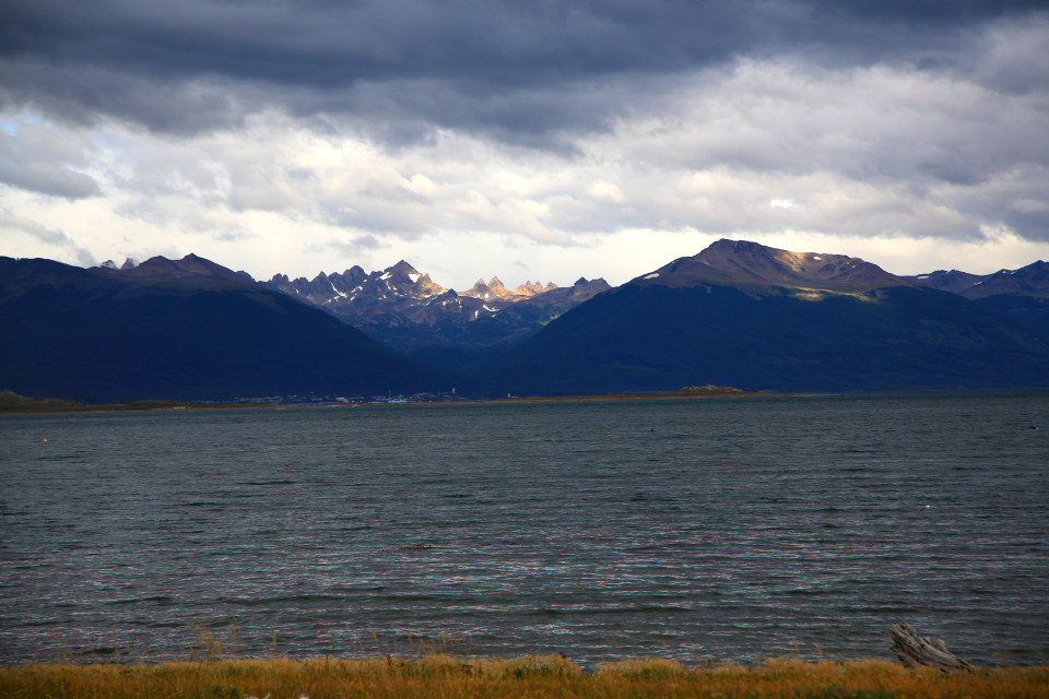 Looking back onto Ushuaia. It is really pretty from this vantage point.
