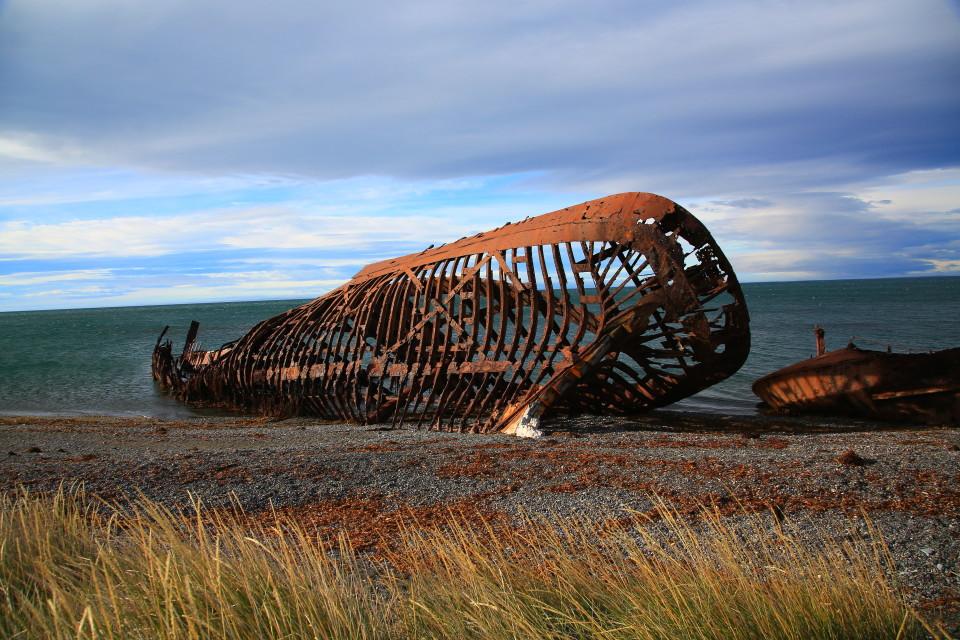 Skeletons of the dangerous Straits of Magellan.